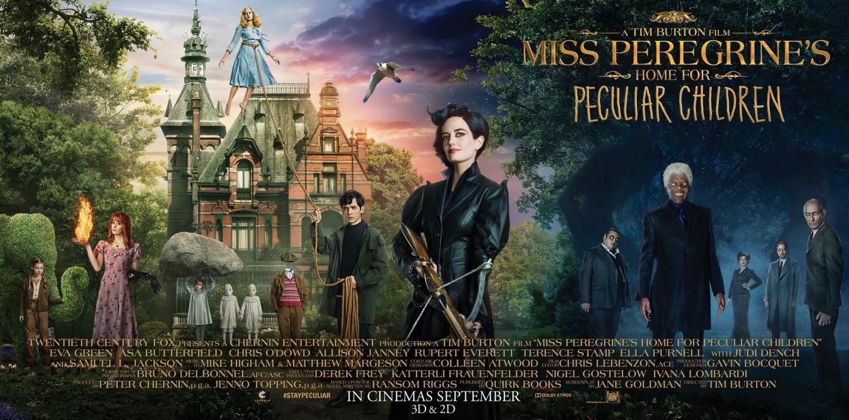 Foto de Carteles de 'El hogar de Miss Peregrine para niños peculiares' (2/19)