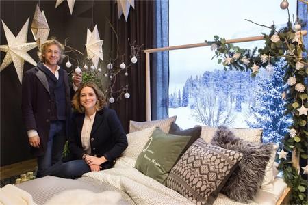 """Ikea """"enciende"""" la Navidad en el escaparate de su céntrica tienda de Serrano en Madrid, y nos presenta las tendencias para estas fiestas"""