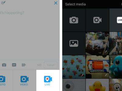 Twitter despliega su opción de empezar un Periscope, y los directos pronto serán insertables