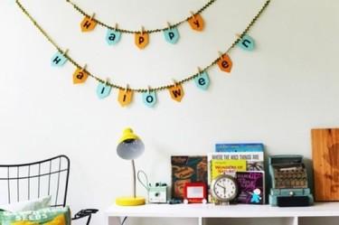 Un DIY sencillo de última hora para la noche de Halloween