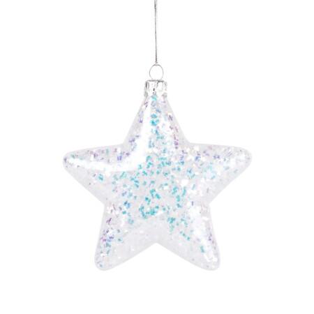 Adorno De Navidad De Cristal Con Purpurina Irisada 1000 5 23 197069 1