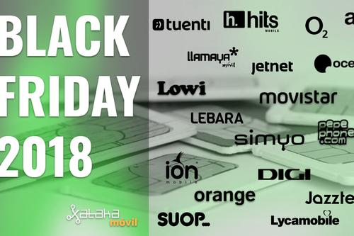 Estas son todas las promociones del Black Friday con los operadores de telefonía en 2018