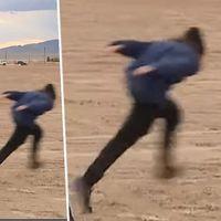 Gente corriendo a lo Naruto y señores con gorrito de plata: así está siendo el asalto al Area 51