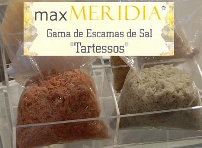 Max Meridia nos ofrece nuevos productos, escamas de sal Tartessos