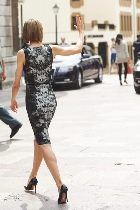 Doña Letizia y su vestido repe