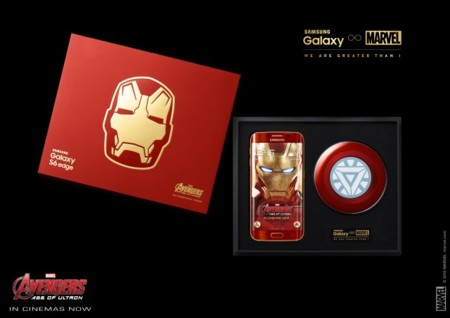 Pack Galaxy S6 Edge Ironman