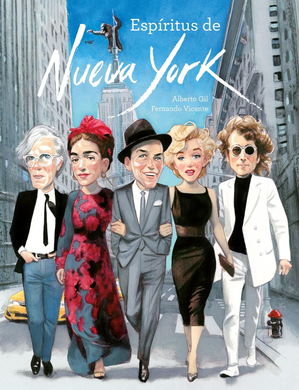 Tres libros ilustrados para viajar a Nueva York . Posdata Digital Press