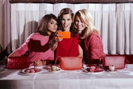 Louis Vuitton se alía con Miroslava Duma, Hanneli Mustaparta y Elin Kling en su nueva campaña