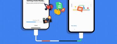 La transferencia de chats de WhatsApp de iPhone a Android llega a los Pixel y a los nuevos móviles con Android 12