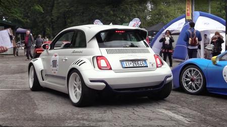 El Giannini 350 GP es el Fiat 500 con motor de Alfa Romeo 4C y tracción trasera que siempre deseaste