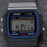 Los míticos Casio F-91W resurgen (aún más) gracias al hardware Open Source y al uso de sensores
