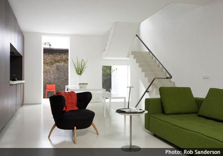Casas que inspiran: minimalismo en Notting Hill