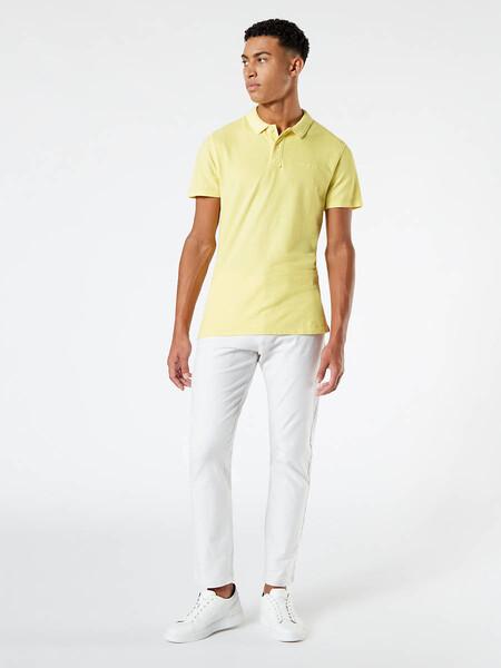 Men S Garment Dyed Pique Polo Shirt