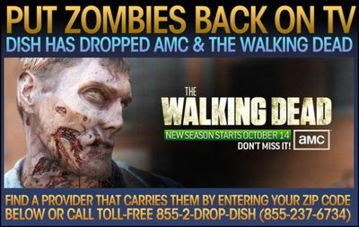 El experimento zombi de 'The Walking Dead', la imagen de la semana