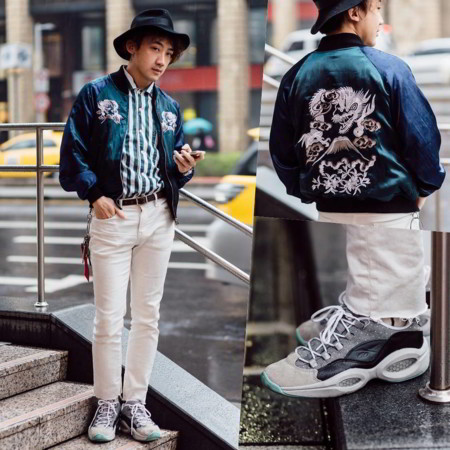 Satin Bomber Jackets Street Style Men 2016