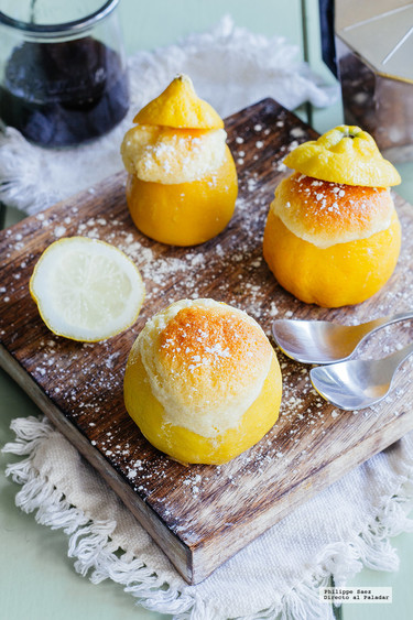 Pastelitos de limón real. Receta para el Día de las Madres