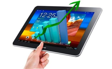 Los tablet Android le quitan un 20% de cuota de mercado al iPad