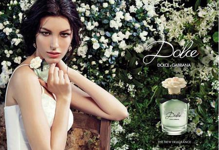 Kate King presta su rostro para Dolce, la nueva fragancia de Dolce & Gabbana