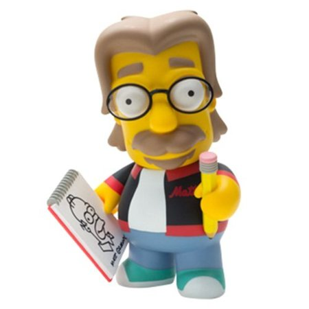 Matt Groening se convierte en un personaje de los Simpsons en esta figura de Kidrobot