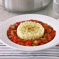 Receta de pisto al curry con mijo: una vuelta de tuerca al pisto de siempre