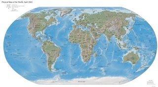 Fool's World Map: el mapa del mundo según los más bobos