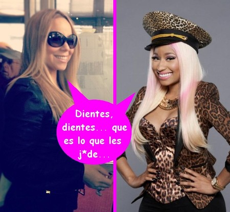 Mariah Carey sigue dándole matraca a Nicki Minaj, ¡que no se nos enfríe!
