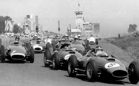 Salida GP Alemania Fórmula 1 1957