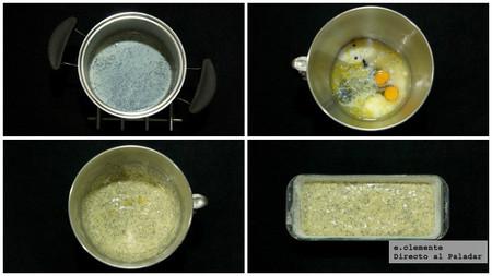 Cake de yogur, limón y semillas de amapola