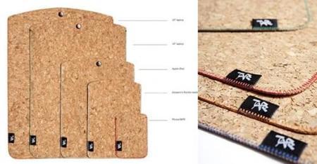 Funda de corcho para el iPad