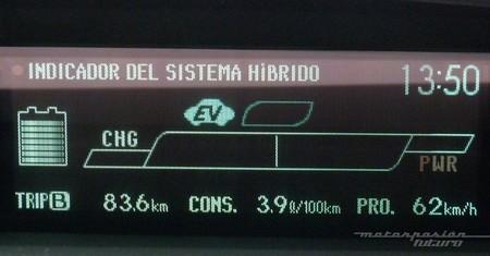 Toyota Prius Plug-in consumo