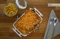 Receta de macarrones con queso al estilo americano