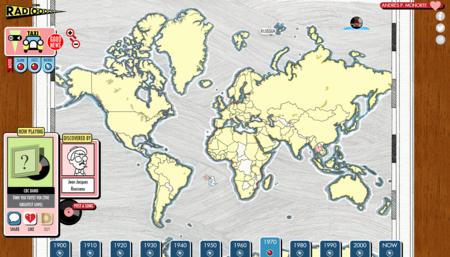 ¿No sabes qué escuchar hoy? Prueba con este mapa con doce décadas de historia musical mundial