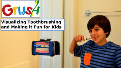 Grush: lavarse los dientes ahora es un juego
