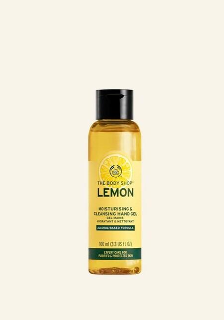 Lemon Moisturising Cleansing Hand Gel 100ml 1 Inecmps413