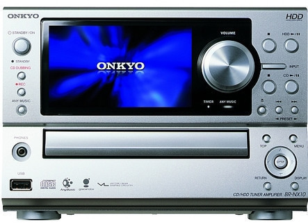 Onkyo BR-NX10, con disco duro