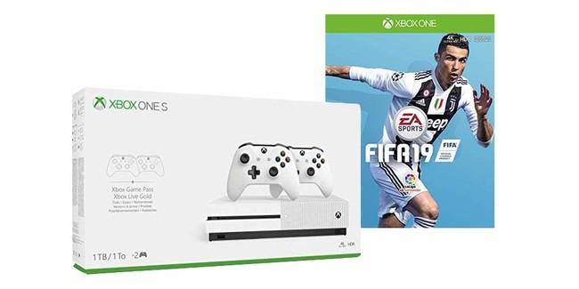 Packs Xbox One S con FIFA 19 y más, en MediaMarkt, por 239 euros
