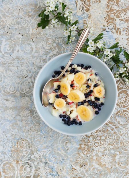 Te mereces un buen desayuno. Receta de muesli antioxidante