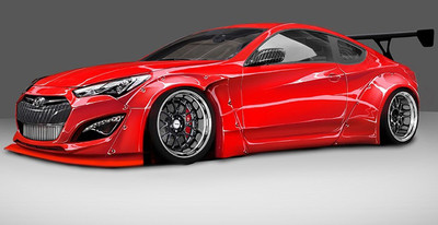 BTR Hyundai Genesis Coupé Project