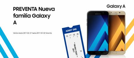 Preventa Galaxy A 2017 Mexico