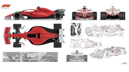 Prototipos F1 2021 Concepto 2