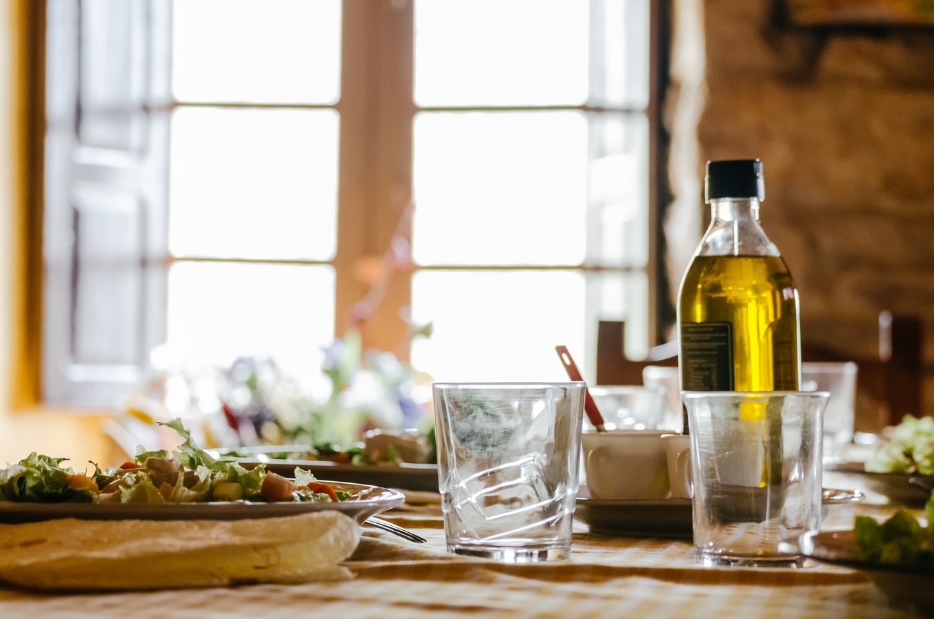 dieta mediterránea por intercambios de alimentos
