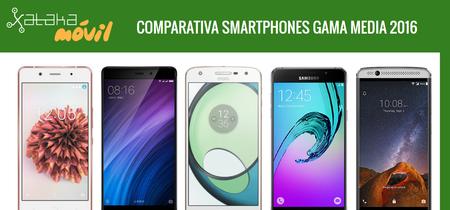 Comparativa definitiva smartphones de gama media en 2016