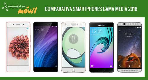 Comparativa definitiva smartphones de gama media en 2016
