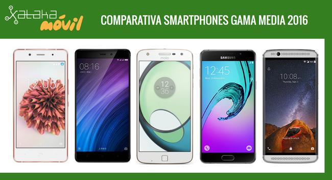 Comparativa Definitiva Smartphones Gama Media 2016