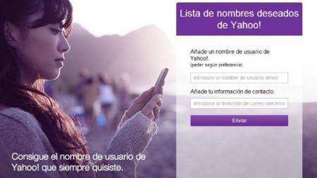 Yahoo Reciclaje de cuentas
