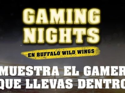 Buffalo Wild Wings presenta los Gaming Nights