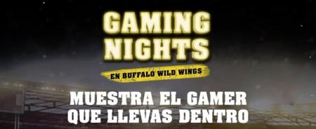 Buffalo Wild Wings presenta los Gaming Nights