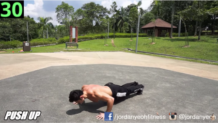 ¿Tienes poco tiempo para entrenar? Una rutina de ejercicios en cuatro minutos con tu propio peso corporal