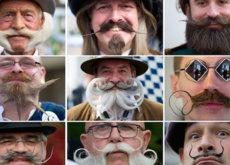 Sí, el Torneo Mundial de Barbas y Bigotes existe y es espectacular