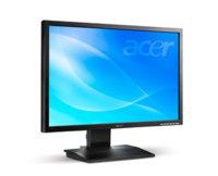 Acer B223, monitor por USB